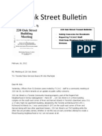 220 Oak Street Bulletin - Life in Skid Row