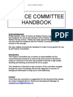 Finance Handbook for Governors
