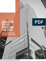 Advanced Energy Modeling for LEED v2
