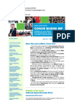 News Bulletin From Conor Burns MP #84