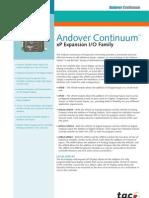 Andover Continuum IO Module Expansion