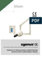 De Gotzen - Xgenus Dc Manuale Di Installazione e Manutenzione