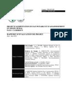 Cameroun - RE - Projet d%27alimentation en Eau Potable Et d%27assainissement en Milieu Rural (2)
