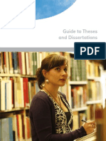 Guide to Theses Dissertations[1]