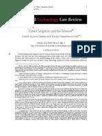 Allison Patent Litigation