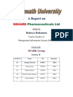 A Report on Square Pharmaceuticals Ltd