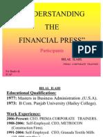 understandingthefinancialpress