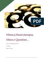 Musicoterapia e o to Pessoal