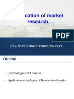 Application of Market Research