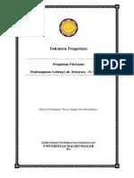 Dokumen Lelang Pembangunan Gedung Lab Rekayasa - D (Tahap II)