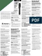 Pelican Light Manual