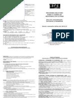 PPGL UFES Fôlder do processo seletivo para aluno REGULAR do Mestrado - 2012-2