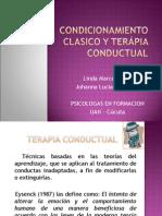 CONDICIONAMIENTO CLASICO Y TERAPIA CONDUCTUAL