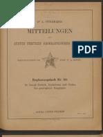 Partsch, Kephallenia Und Ithaka, Eine Geographische Monographie