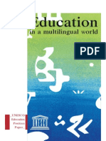 Education in a Multilingual World