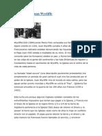 Biografía de Juan Wycliffe