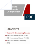 Channel Element Configuration