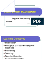 Supplier Partnership (Lc-06)