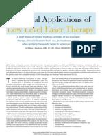 Principal Application of Laser Therapy PPM Nov06 Kneebone-4 c