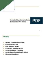 GA _timetable Problem 2
