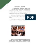 ATENCION AL PUBLICO