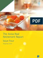 Aviva Real Retirement Report, Issue 4, December 2010