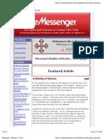 e-Messenger for Feb 17, 2012