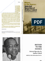 Return to the Source -Selected Speeches of Amilcar Cabral