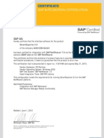 Abap Add on Certificate