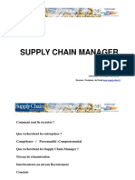 Supply Chain Manager 03-07-2008