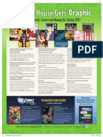 RH Spring Graphic Novel, Comics and Manga Titles