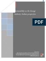 2011 Sustainability in the Energy Industry