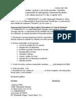 Act Prestare Servicii Profilaxie Si Reparatii