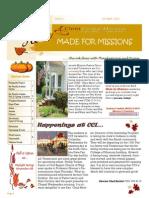 Mfm October Newsletter