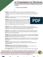 Resolution 201204 - Unlawful Electioneering