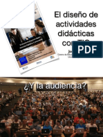 El diseño de actividades didácticas con TIC