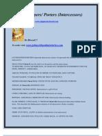 Gatekeepers/ Porters (Intercessors)