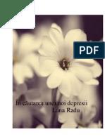 In Cautarea Unei Noi Depresii - Lana Radu