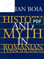 Lucian Boia History and Myth in Romanian Consciousness