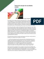 Análisis y evolución del concepto de necesidades educativas especiales