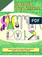 Brochure Summer