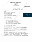 2012-02-17 POWELL-SWENSSON - Letter From Hatfield Re Related Cases Tfb