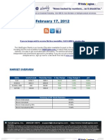 ValuEngine Weekly Newsletter February 17, 2012