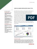 Oracle-Human Resources Analytics