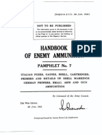 52183493 Handbook of Enemy Ammunition Pamphlet 7 UK 1943