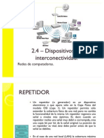 2.4 Dispositivos de Interconectividad RC