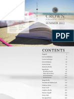 Crown Publishing Group Summer 2012 Catalog