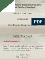 DERIVADAS AULA 3
