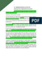 Admin is Trac Ion Del Activo Fijo