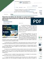 Aspectos da defesa do devedor na ação de busca e apreensão decorrente de contrato de alienação fiduciária - Revista Jus Navigandi - Doutrina e Peças